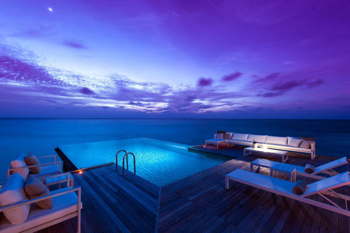Conrad maldives rangali island piscina blog for Hotel conrad maldivas islas rangali