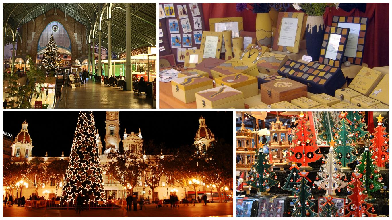 Donde hacer tus compras navide as m s originales en espa a - Mercado de navidad madrid ...
