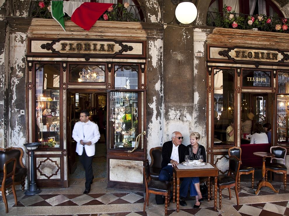 Café Florian el café más antiguo de Europa.