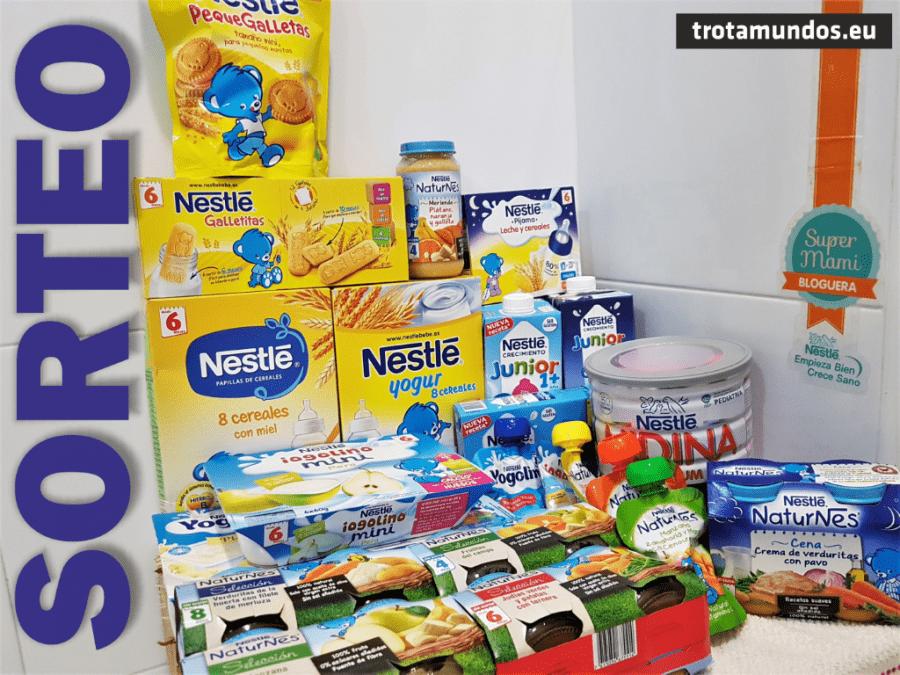 SUPER SORTEO Lote Nestlé Bebé CERRADO