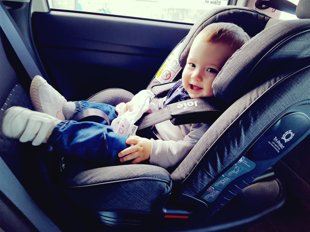 Creciendo con seguridad: Joie Stages Isofix