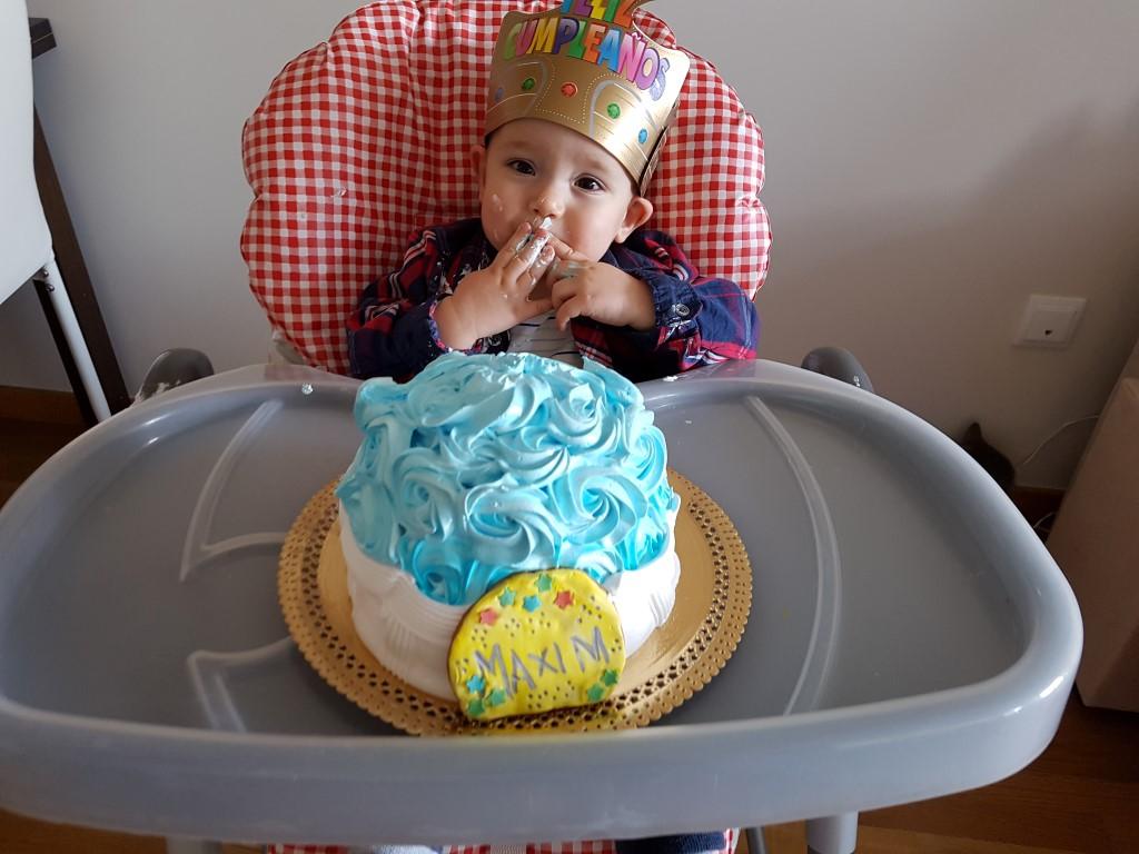 Los regalos del primer cumpleaños de Máxim!