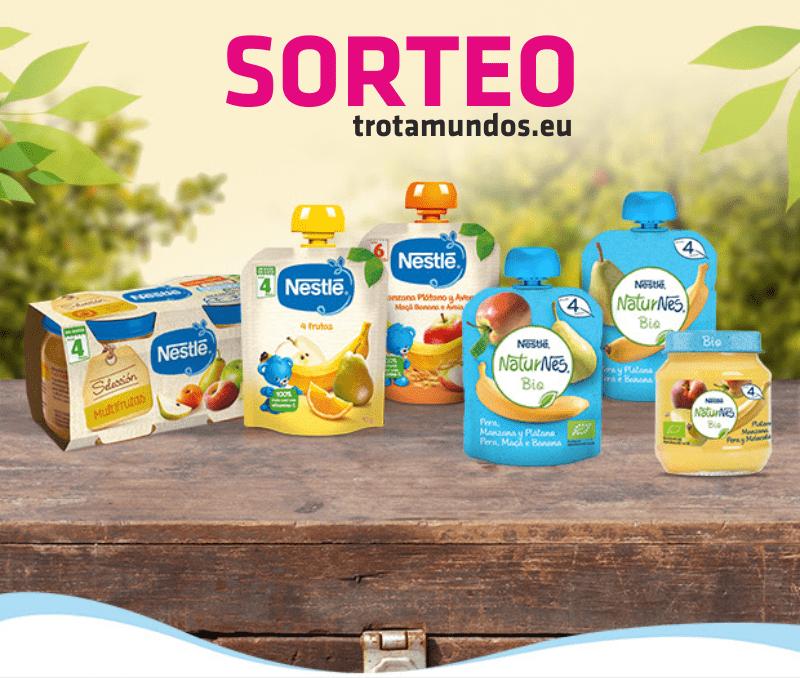 SORTEO Nestlé pures sin azucares añadidos CERRADO
