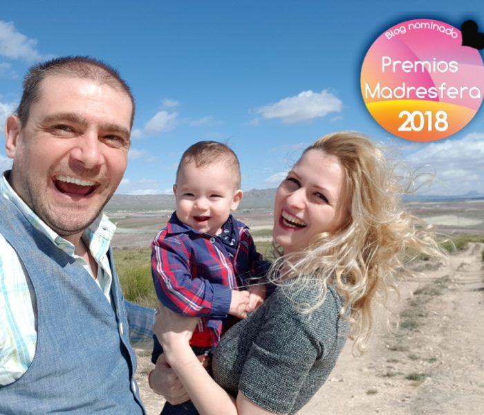 Estamos nominados en los Premios Madresfera 2018 en la categoría Viajes en familia
